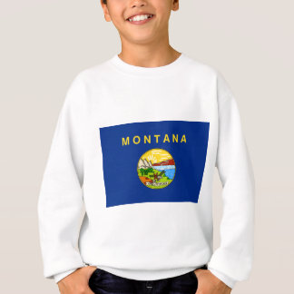 Flag Of Montana Sweatshirt