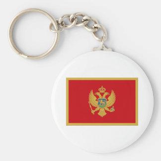 Flag of Montenegro Key Ring