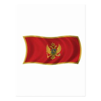 Flag of Montenegro Postcard