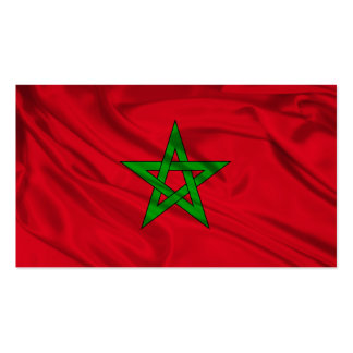 Flag of Morocco Pack Of Standard Business Cards
