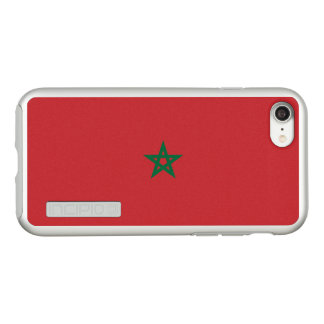 Flag of Morocco Silver iPhone Case