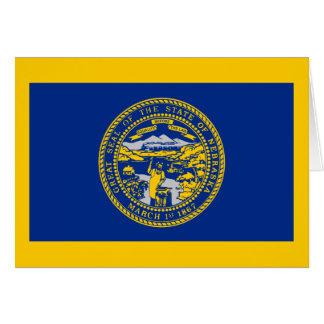 Flag of Nebraska Note Card
