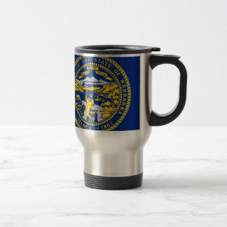 Flag Of Nebraska Travel Mug