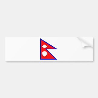 Flag of Nepal Bumper Sticker