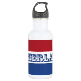 Flag of Netherlands 532 Ml Water Bottle