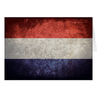 Flag of Netherlands Greeting Card