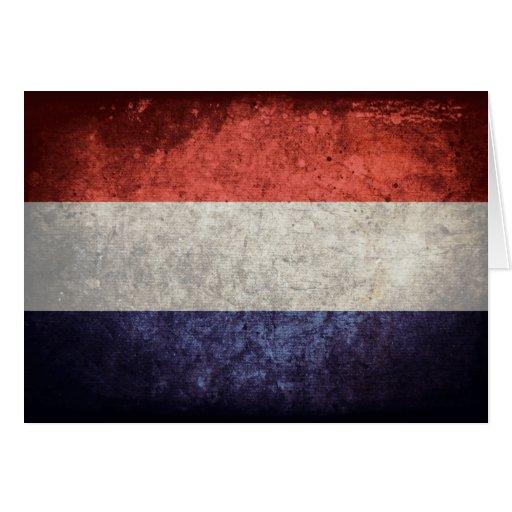 Flag of Netherlands Greeting Card