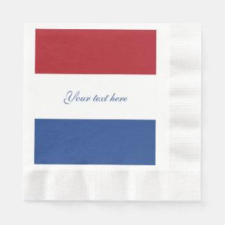 Flag of Netherlands Paper Napkin