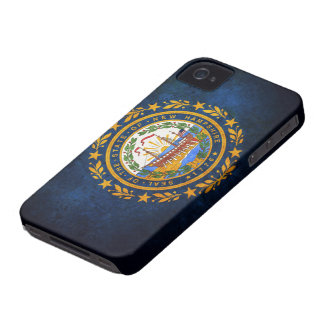 Flag of New Hampshire iPhone 4 Case-Mate Case