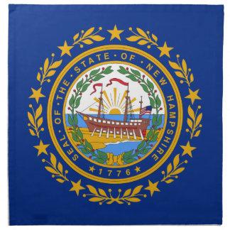 Flag Of New Hampshire Napkin