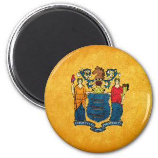 Flag of New Jersey Magnet