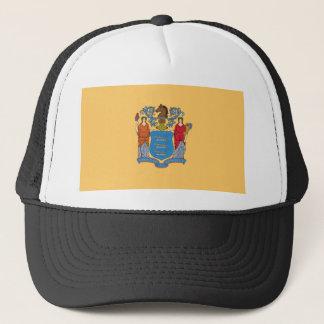 Flag Of New Jersey Trucker Hat
