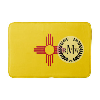 Flag of New Mexico Bath Mats