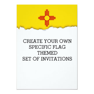 Flag of New Mexico Card