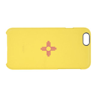 Flag of New Mexico Clear iPhone Case