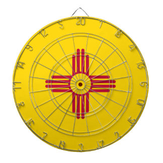 Flag Of New Mexico Dartboard