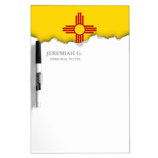 Flag of New Mexico Dry Erase Board
