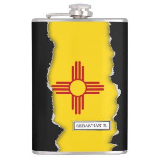 Flag of New Mexico Flasks