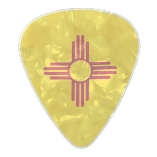 Flag of New Mexico Guitar Picks