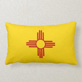 Flag of New Mexico Lumbar Pillow