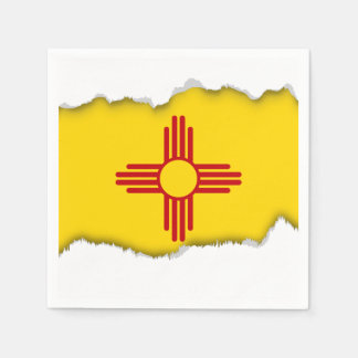 Flag of New Mexico Paper Serviettes