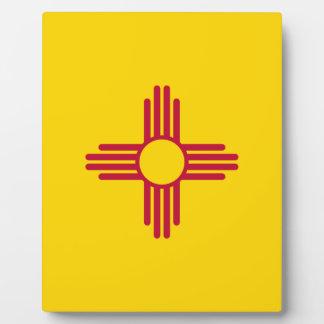 Flag Of New Mexico Plaque