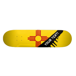 Flag of New Mexico Skate Boards
