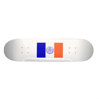 Flag of New York City Skate Board Decks