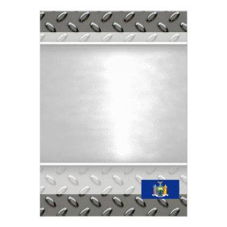 Flag of New York 13 Cm X 18 Cm Invitation Card