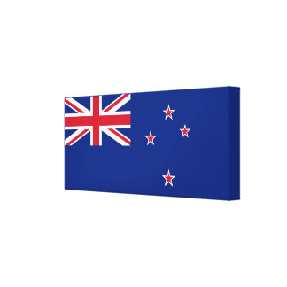 Flag of New Zealand Canvas Print