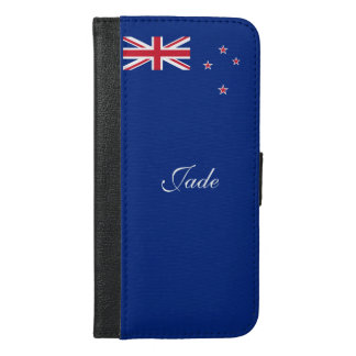 Flag of New Zealand iPhone 6/6s Plus Wallet Case