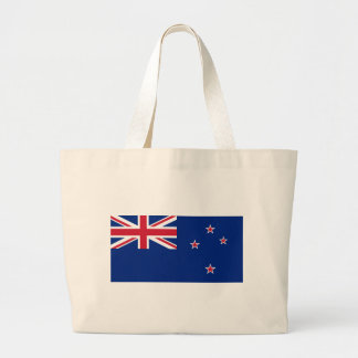 Flag_of_New_Zealand Large Tote Bag