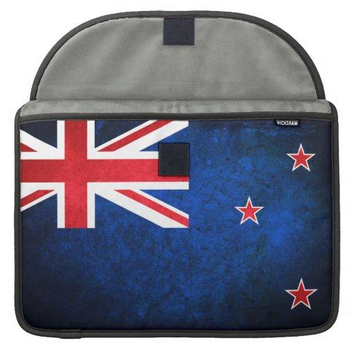Flag of New Zealand Sleeves For MacBooks