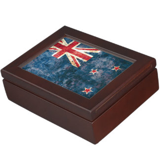 Flag of New Zealand Keepsake Box