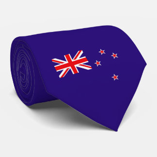 Flag of New Zealand Tie