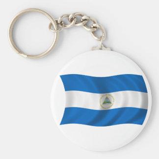 Flag of Nicaragua Key Ring