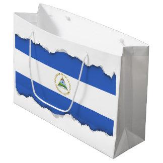 Flag of Nicaragua Large Gift Bag