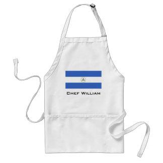 Flag of Nicaragua Standard Apron