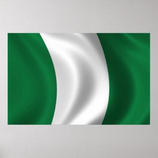 Flag of Nigeria Poster