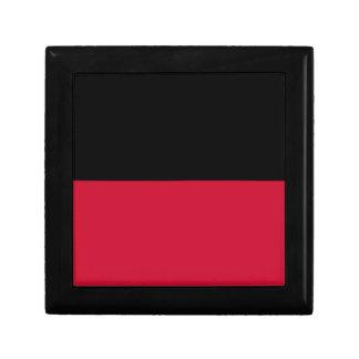 Flag of Nijmegen Small Square Gift Box