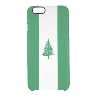 Flag of Norfolk Island Clear iPhone Case