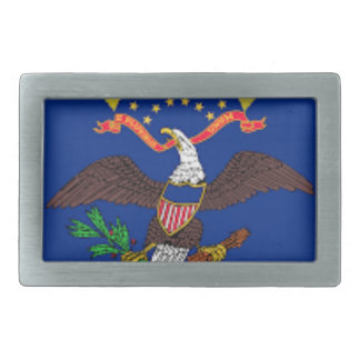 Flag Of North Dakota Belt Buckle
