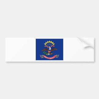 Flag Of North Dakota Bumper Sticker