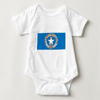 Flag Of Northern Mariana Islands (USA) Baby Bodysuit