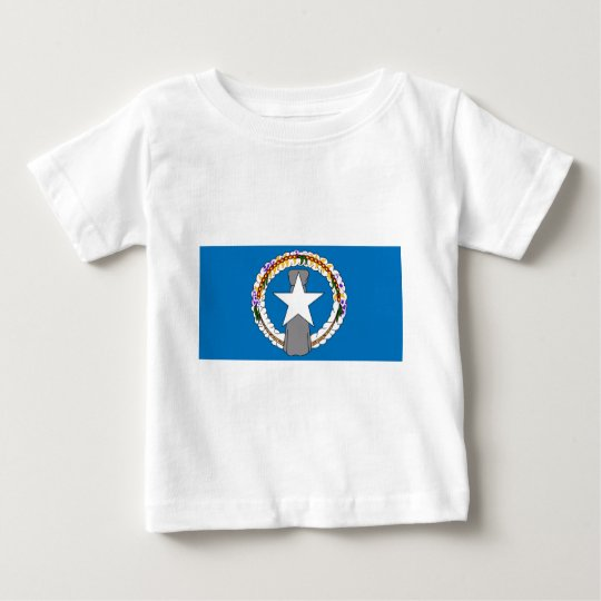 Flag Of Northern Mariana Islands (USA) Baby T-Shirt