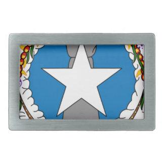 Flag Of Northern Mariana Islands (USA) Belt Buckle