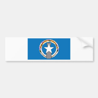 Flag Of Northern Mariana Islands (USA) Bumper Sticker