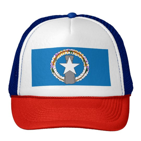 Flag Of Northern Mariana Islands (USA) Cap