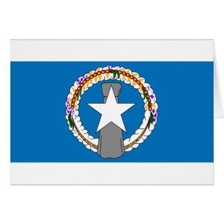 Flag Of Northern Mariana Islands (USA) Card