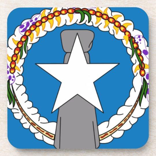 Flag Of Northern Mariana Islands (USA) Coaster
